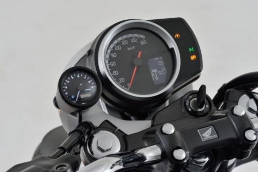 DAYTONA GB350 VELONA™タコメーターキット φ48 装着イメージ
