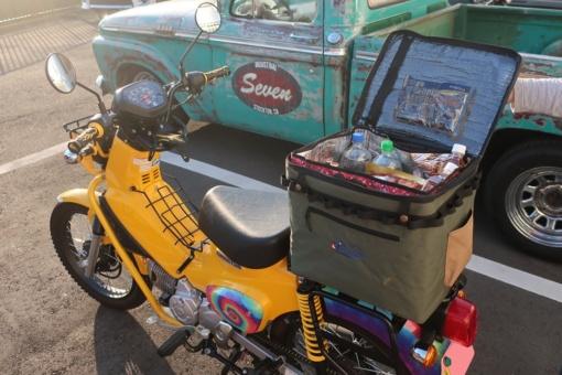 JAM'S GOLD JGC-931 SMASH保冷シートバッグ装着イメージ
