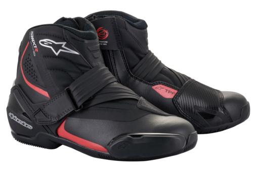 アルパインスターズ SMX-1R v2 BOOT ブラック×レッド