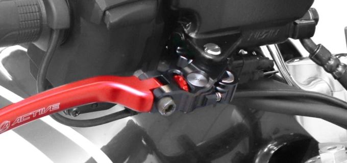 アクティブ ホンダ・レブル1100用STFビレットレバー装着イメージ