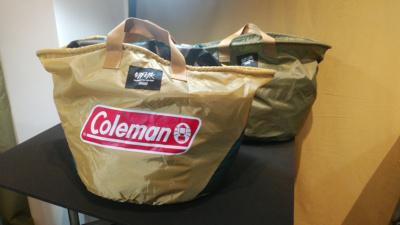 """廃棄物を再生してバッグを作るColemanの新プロジェクト """"MFYR"""" 始動"""