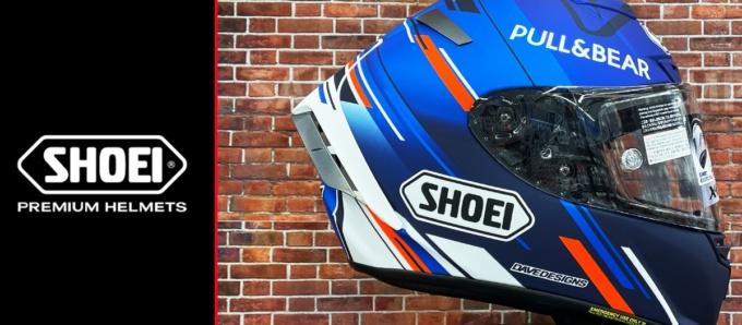 NANKAI BRAND SHOP SHOEI製ヘルメット取扱い