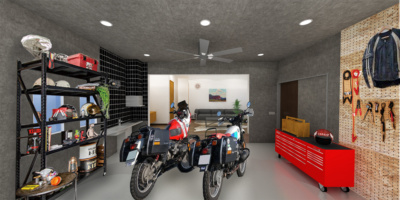 コバユリ監修、ガレージ付き物件が横浜に誕生。バイクと共に暮らそう♪