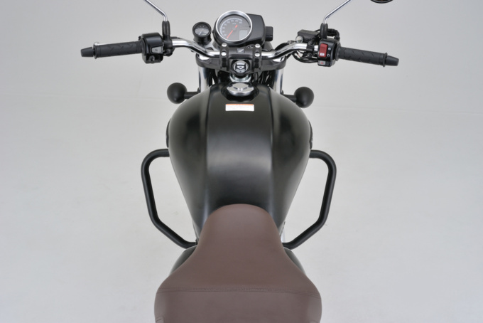 デイトナ・GB350用 パイプエンジンガード