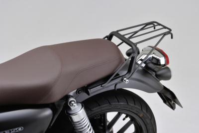 荷物の多いロングツーリングには必須!ホンダ・GB350用クラシックキャリアがデイトナから7月下旬発売