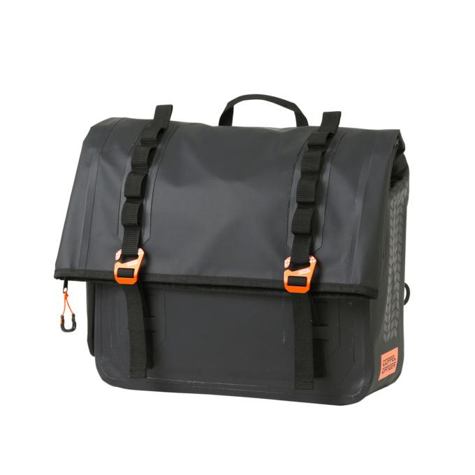 ドッペルギャンガー アメリカン&クルーザー専用ターポリンサドルバッグ DBT606-BK