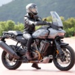 """155cm女子ライダーの、少しは参考になるかも? 足つき&プチインプレ""""Harley Davidson PAN AMERICA 1250"""""""