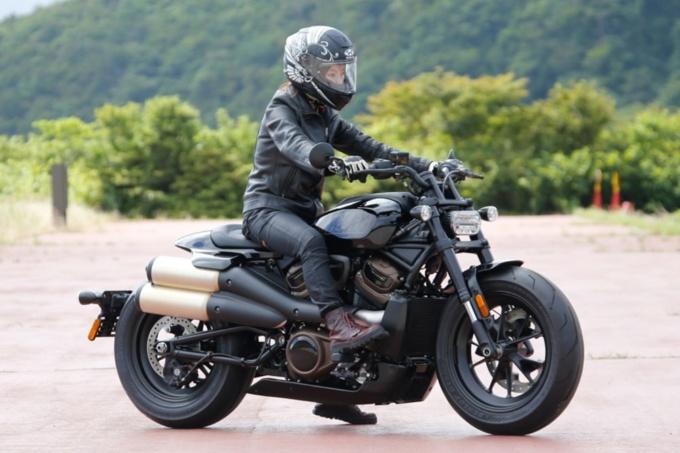 Harley Davidson SPORT STER S足つき