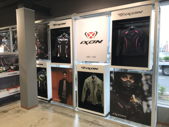 IXON取り扱い店舗増加中