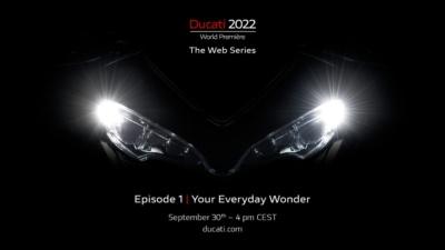 """ニューモデル発表をいち早くチェック!""""Ducati World Premiere 2022""""は9月30日Youtubeにて世界同時公開"""