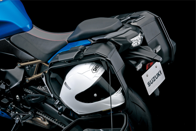 GSX-S1000GTオプション装着1