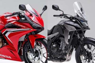 ホンダ・CBR400Rと400Xにリコールの届け出。ABSの不良により制動距離が伸びるおそれあり