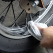 お手軽洗車でバイクをきれいに!「ホイール編」